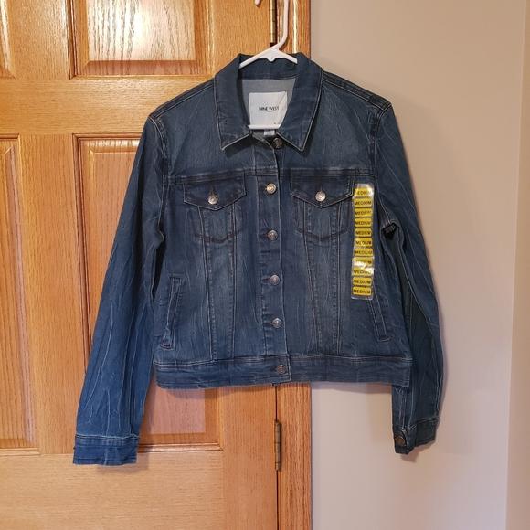 NWT Nine West Jean Jacket